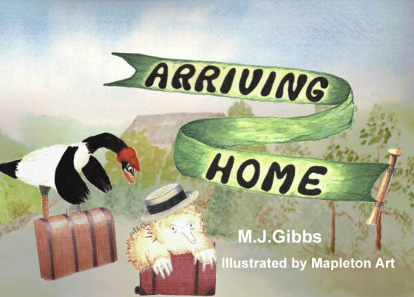 Arriving Home by MJ Gibbs - Cover
