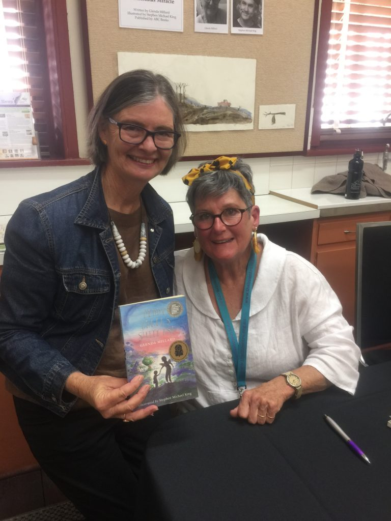 Meeting Glenda Millard