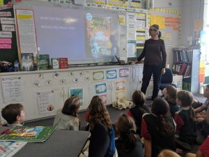 School Visits with MJ Gibbs