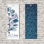 Free Bookmark Printable, Bookmark C