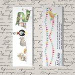 Free Bookmark Printable, Bookmark D
