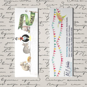 Free Bookmark Printable, Bookmark D